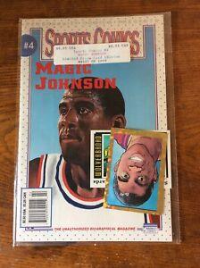 Magic Johnson 1991 NBA Sports Comics Limited Prizm Card Edition - NEW Comic Book