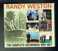 RANDY WESTON - THE COMPLETE RECORDINGS 1955-1957 - COFFRET 3 CD SET - NEUF NEW