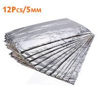 12pcs 50*30cm Car Sound Noise Deadener Insulation Sheet Mat Heat Proofing Foam