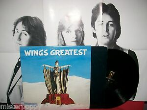 PAUL McCARTNEY WINGS Greatest (THE BEATLES) LP 1978 ITALY MINT- Poster