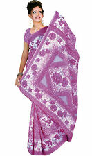 mousseline Bollywood Carnaval SARI ORIENT INDE fo330