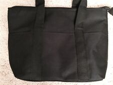Women's Insulated Black Tote Bag