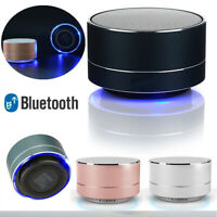 Hot Portable Wireless Bluetooth Stereo Mini Speaker Bass For Smartphone Tablet E