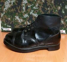 Genuine vintage British Army Drill / Ammunition combat boots. - 15 M - Grade - 1