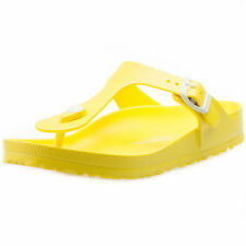 Sandali e scarpe gialli di gomma per il mare da donna
