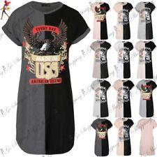 Viscose Round Neck Dresses Oversize