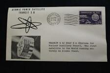 SPACE COVER 1963 MACHINE CANCEL TRANSIT 5B/SNAP 9A 1ST ATOMIC POWER SAT (1495)