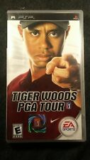 PSP Game Tiger Woods PGA Tour Game For PSP with case