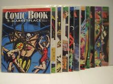 SUPER LOT OF 11 COMIC BOOK MARKETPLACE ISSUES - EC - L.B. COLE - S/F - HORROR