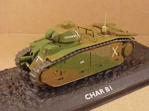ATLAS #4660130 1/72 Char B bis Heavy Tank,1st  Armored Div., French Army, 1940