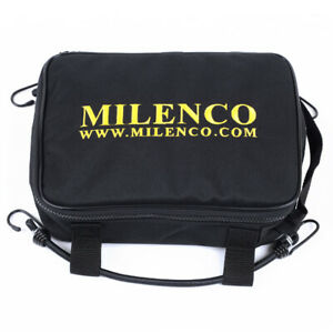 MILENCO Motorcycle Chain Lock Bags with 2 Bungee Straps