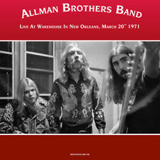 Allman Brothers Band - Live at Warehouse 1971 - NEW SEALED 2 LP set 180g import