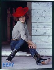 Irina Demick sexy cowgirl VINTAGE 4/5 Transparency