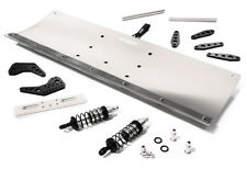 Integy RC Model C28556SILVER Alloy Machined 400mm Snowplow Kit for Traxxas TRX-4