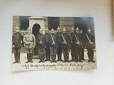 AK Auf Wache im Kriegsjahr 1914/15 Fürth Bayern 1. Weltkrieg Feldpost gelaufen