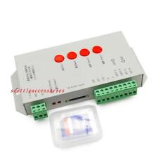 T1000S 256M SD Card LED Pixel Controller For WS2812B LPD8806 6803 WS2811 WS2801