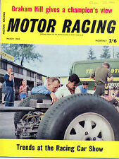 Motor Racing - BRSCC journal - magazine - March 1963