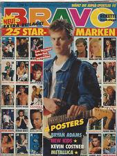 BRAVO 49/28.11.1991 Poster METALLICA + NEW KIDS ON THE BLOCK + KEVIN COSTNER