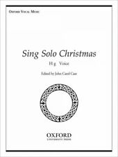 Sing Solo Christmas : High Voice, Paperback by Case, John Carol (Edt), Brand .