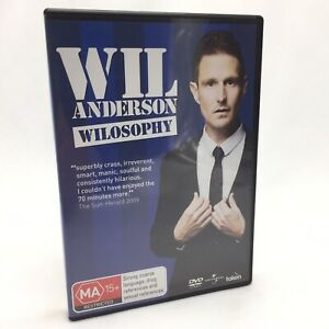 Wil Anderson: Wilosophy (DVD, 2009) Regions 2&4 In Like New Condition