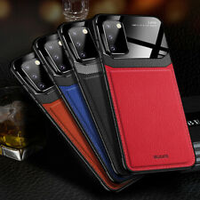 For Samsung Galaxy S20 / S20 Plus / S20 Ultra Leather Shockproof Slim Case Cover