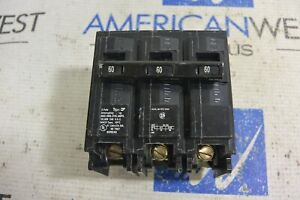 Q360 Siemens ITE 3 pole 60 amp Plug in QP 240V Circuit Breaker