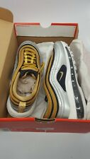 NIKE AIR MAX 97 SE Women's Trainers shoes size UK5 EUR37 Silver/Gold Brand New