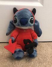 Disney Land Paris Lilo & Stitch - Stitch Devil Soft Toy Plush