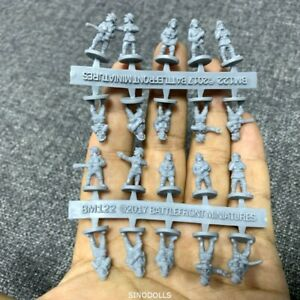 Lot 20 Caesar Miniatures 1/72 122 US Counter-Terrorist Elite Forces Figures #K7