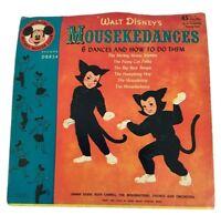 Vintage Walt Disney's Mousekedances 45 RPM Record Sleeve