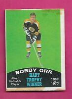 1970-71 OPC # 246 BRUINS BOBBY ORR HART FAIR CARD (INV# C4851)