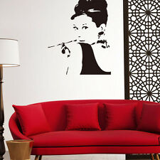 Removable Wall Decal Home Decor Audrey Hepburn Stickers Mural Vinyl Wall Art DIY