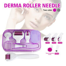 6 in1 Titanium Derma Roller Kit Micro Needle Skin Care Therapy Massager Recovery