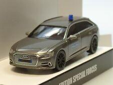Herpa Audi A6 Avant SEK GSG9 Polizei Spezialeinsatzkom. grau met - 936378 - 1:87