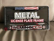 New listing FSU Florida state university Tag License plate college football seminoles