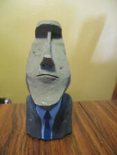"Easter Island Moai Statue 6"" T By Dedo"