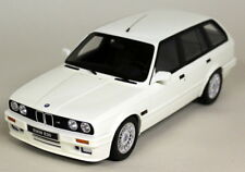 Otto escala 1/18 - BMW 325i Touring M Pack E30 Blanco Resina Fundido Coche Modelo