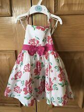 John Lewis Girls Floral Dress Aged 12 - 18 Months - Worn
