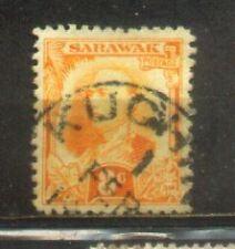 1932 Malaya Malaysia Sarawak 8c