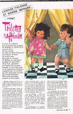 ▬►Page POUPÉE FRANÇOISE MICHEL  Modes et Travaux OCTOBRE 1967