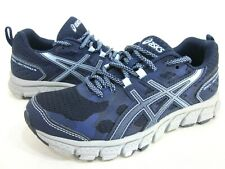 ASICS WOMEN'S GEL-SCRAM 4 RUNNING SHOES,PEACOAT/SKY,US SIZE 5 M,PRE-OWNED