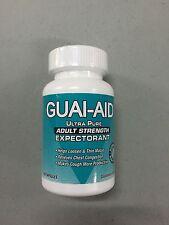Guai-Aid Guaifenesin Ultra Pure Relieve Mucus Guai Aid 600mg Mucinex Generic