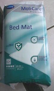 4x MoliCare Bed Mat Krankenunterlagen 60x90cm 4x25 100 Stk. Bettschutzeinlagen