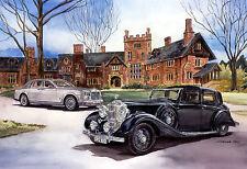 """Phantoms"" 1937 Rolls-Royce Phantom III & 2002 Phantom LR Daniels LTD ED  FS"