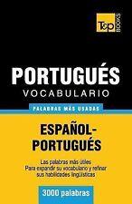 Vocabulario Español-Portugués - 3000 Palabras Más Usadas by Andrey Taranov...