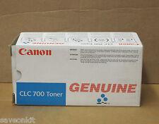 Nuevo genuino Canon Clc 700 Copiadora Cartucho de tóner cian canclc700c