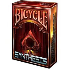 Bicycle Albino Dragon's Synthesis Red Cyberpunk Playing Cards Deck New