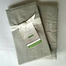 NEW Pottery Barn Peyton Payton Organic Cotton Standard Pillow Sham Cover Gray