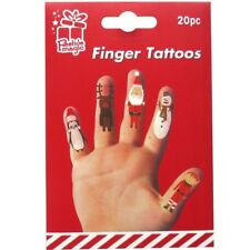 20 X Kinder Entfernbar Fingerpuppe Tattoos Spass Socken Füller Aktivität