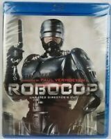 RoboCop Unrated Director's Cut Blu-ray Disc Peter Weller Brand New Sealed
